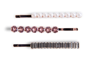 Swarovski Hair Slide Set Hair Slides - Alice and Blair