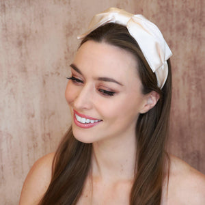 Thalia Bow Headband Headband - Alice and Blair