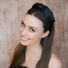 Load image into Gallery viewer, Thalia Bow Headband Headband - Alice and Blair