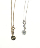 """Sister"" Circle Gold-Plated Charm Necklace"