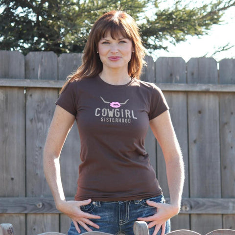 Cowgirl Sisterhood Round-Neck Tee