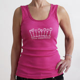 Wine Sisterhood Tank in Pink