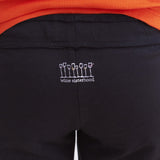 "Wine Sisterhood Logo on the Long Black ""Yoga"" Pant"