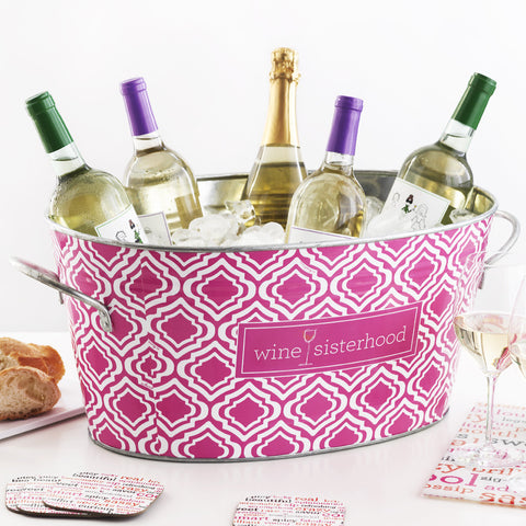Wine Sisterhood Party Tub