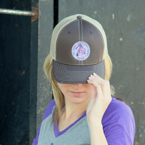 Purple Cowboy Baseball Cap