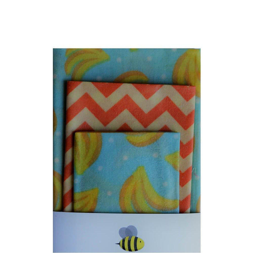 Beeswax Wrap Set 4