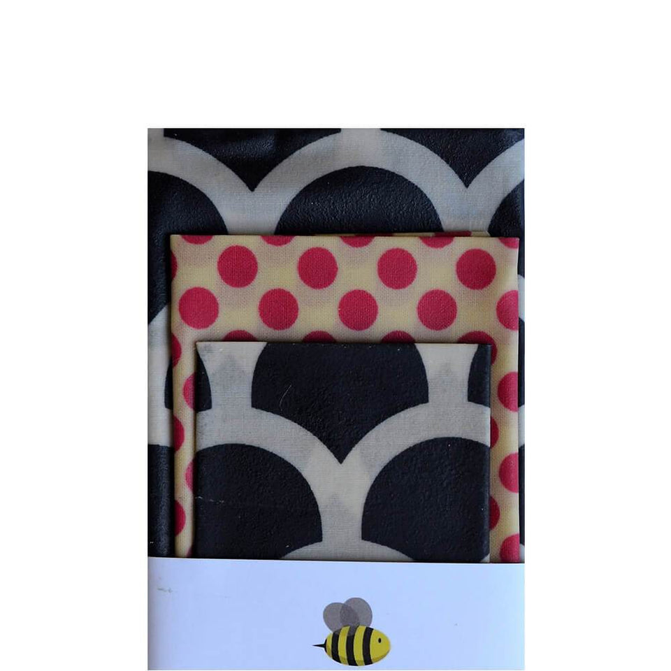 Beeswax Wrap Set 5