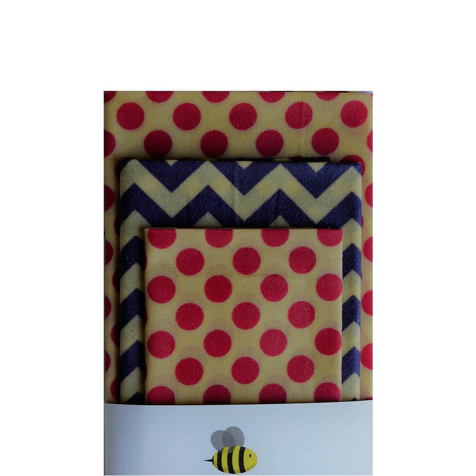 Beeswax Wrap Set 6