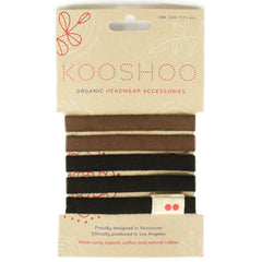 organic cotton hairties