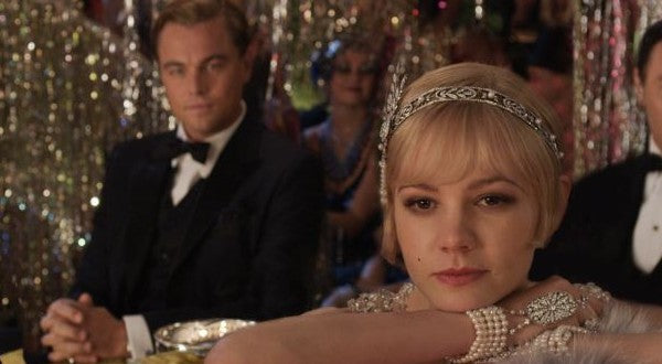 Flapper's headband from The Great Gatsby