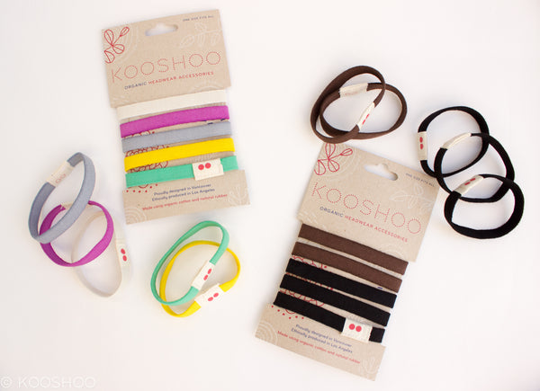 The Only Organic Cotton Hairties   Hair Elastics in the World. ec058256108