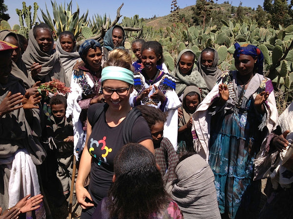KOOSHOO yoga headband in Ethiopia with imagine1day