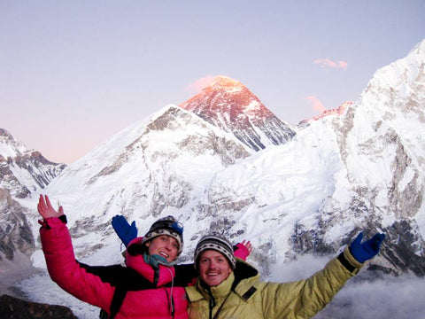 KOOSHOO founders at Mount Everest