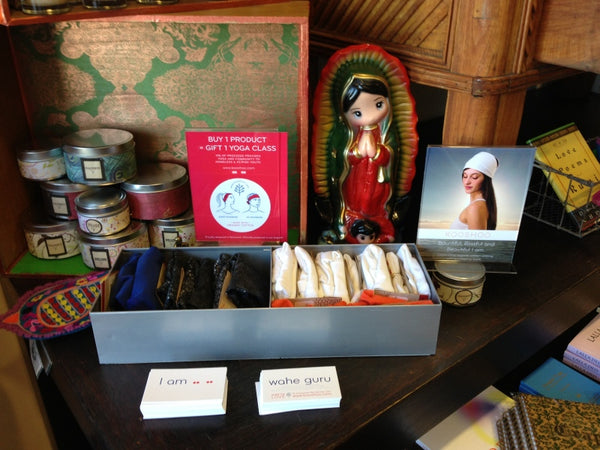 Golden Bridge Yoga Los Angeles KOOSHOO display