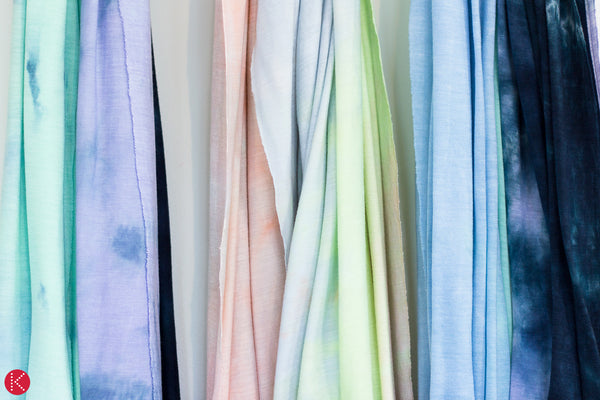 hand dyed shawls by KOOSHOO made from Tencel