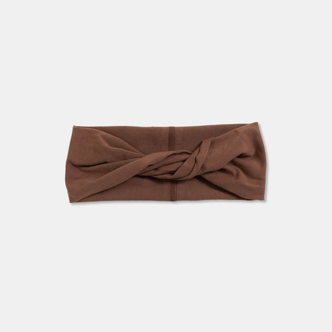 TWIST HEADBAND Chestnut Brown