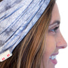 organic cotton grey headband