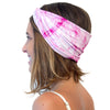organic cotton pink headband