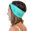 Green headbands that don't slip