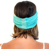 wide green headband