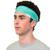 mens green headband