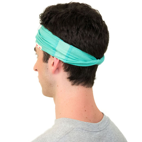 green headband for men