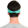 mens green yoga headband