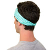 TWIST HEADBAND mint green batik