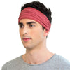 TWIST HEADBAND marsala red