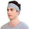 TWIST HEADBAND limestone grey