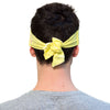 TIE HEADBAND yellow