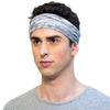 grey mens sport headband