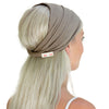 women's brown, taupe, grey, headband