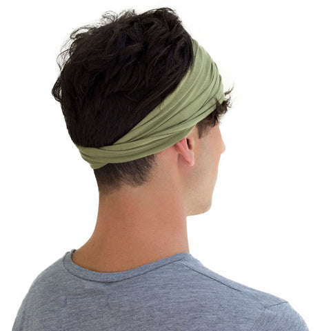 men green headband