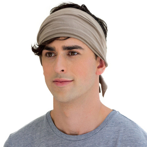 neutral men's headband