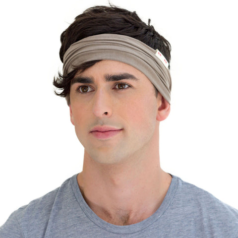men neutral sweatband