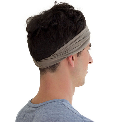 grey men sweatband