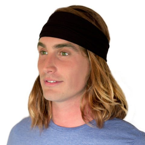 mens black bandana