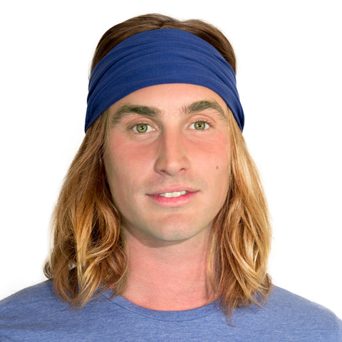 blue headband for men