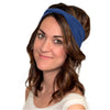 blue headbands for women