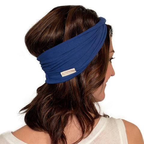 cute blue headbands for women