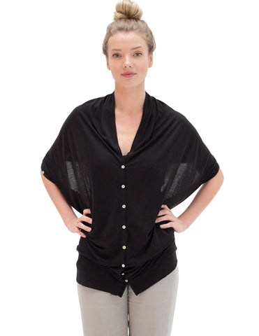 JOURNEY shawl jet black
