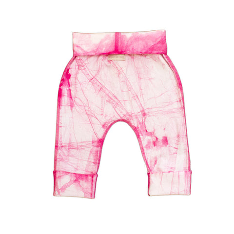 wholesale organic pink baby tights