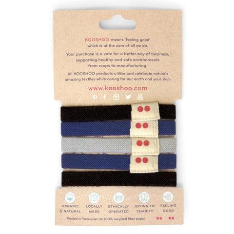 ORGANIC HAIR TIES sea shepherd 23270524b11