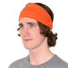 orange mens headband