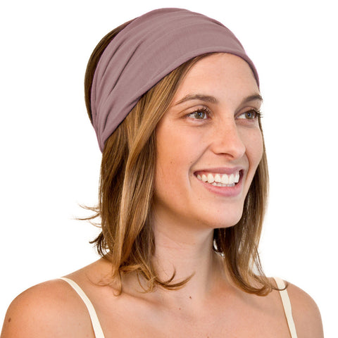 KOOSHOO Boho Women's Headband Purple