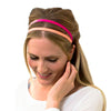eco fashion pink headband