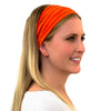head coverings for hiking, orange