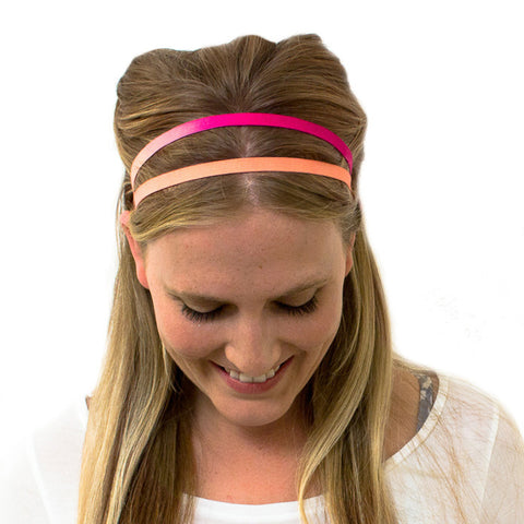 peach headband for women