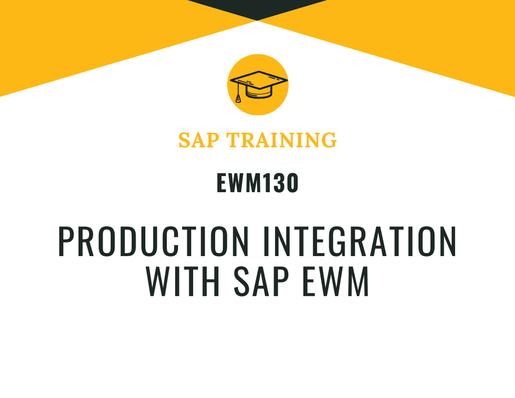 EWM130 Production Integration with SAP EWM